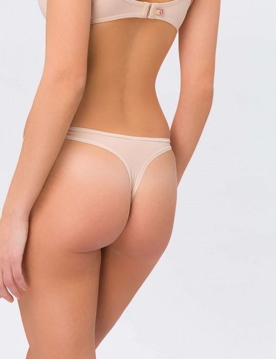 Stepy Soft String nude Rückansicht