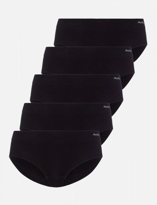 Comfee Hipster (5-er Pack) schwarz