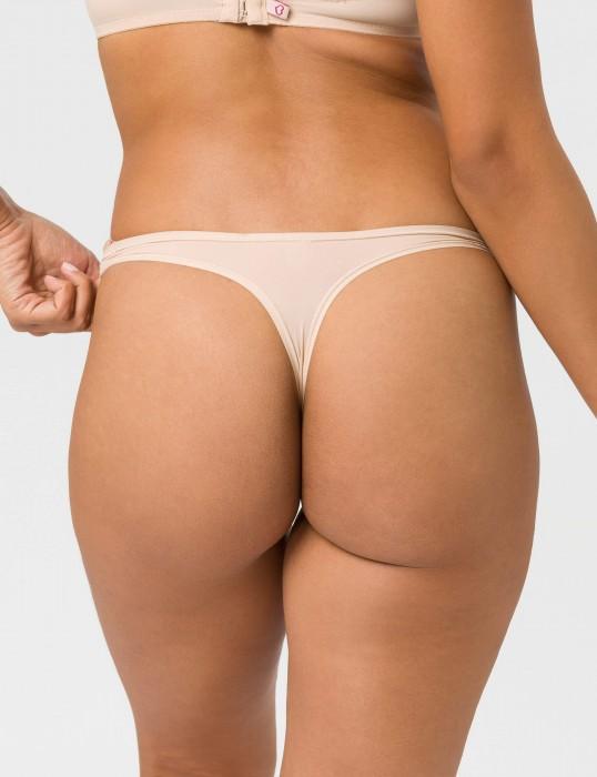 Stepy Soft String nude